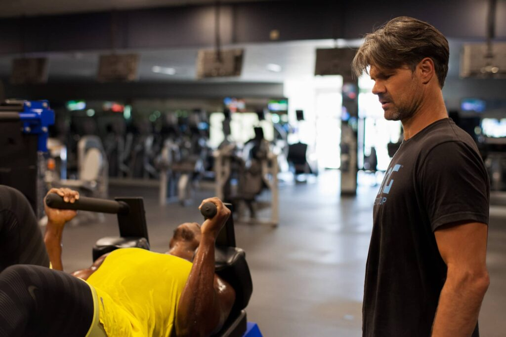 Dave Daglow training a client using the DAG Method