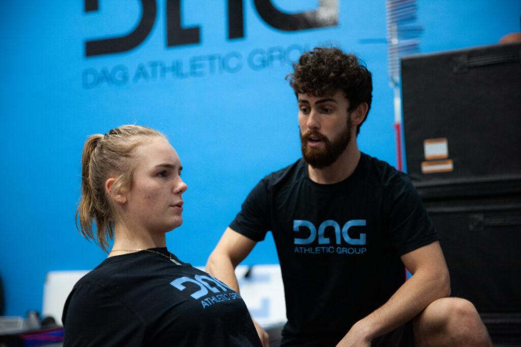 Daniel Roberts trains DAG Client